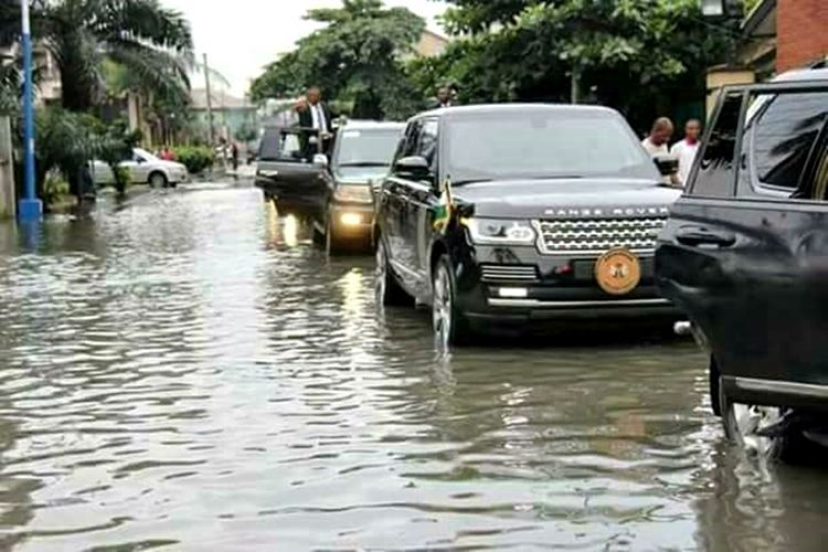 Governor Wike's official car review: Experiencing luxury ride in the Range Rover Vogue