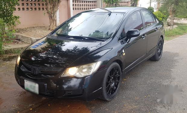 Honda Civic 2007 For Sale >> Honda Civic 2007 1 8i Vtec Lxi Black For Sale 35898