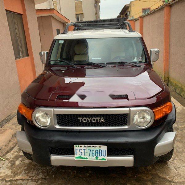 Used Toyota Fj Cruiser >> Nigeria Used Toyota Fj Cruiser 2008 Model 79864