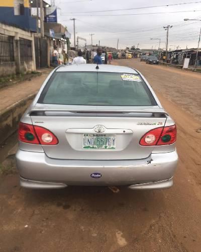 Used Toyota Corolla >> Nigeria Used Toyota Corolla 2007 Model Silver 82678