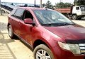 Nigeria Used  Ford Edge 2008 Model Red-7