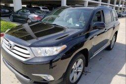 Toyota Highlander 2013 3.5L 4WD Black for sale