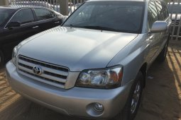 Almost brand new Toyota Highlander Petrol for sale