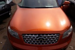 Infiniti FX 2005 35 Orange for sale