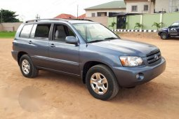 Toyota Highlander 2005 4x4 Blue for sale