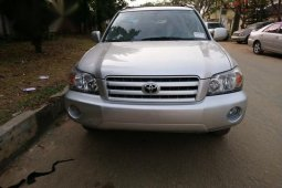Toyota Highlander V6 4x4 2005 Silver for sale