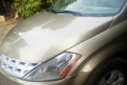 Nissan Murano S AWD 2007 Gold for sale