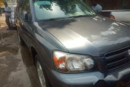 Toyota Highlander 2005 Limited V6 Blue for sale