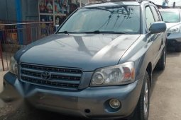 Toyota Highlander 2005 V6 Blue for sale