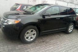 Ford Edge 2014 Petrol Automatic Black for sale
