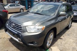 Gray 2009 Model Toyota Highlander for sale