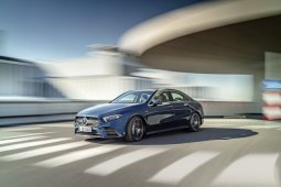 2020 Mercedes-AMG A 35 sedan review inside out