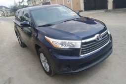 Toyota Highlander 2014 Blue for sale