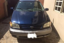 3 Month Used Toyota Sienna 2001 Blue for sale