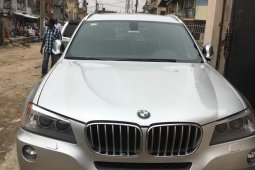 BMW X3 2013 Silver for sale