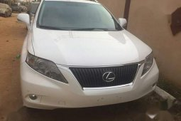 Lexus RX 2011 350 White for sale