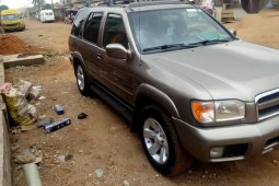 Nissan Pathfinder 2003 LE AWD SUV (3.5L 6cyl 4A) Gray for sale