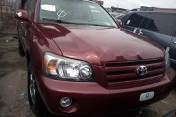 Almost brand new Toyota Highlander 2005 for sale