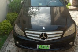 Mercedes-Benz C350 2008 Black for sale
