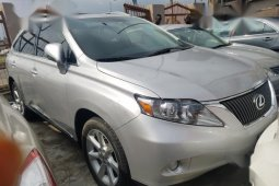 Lexus RX 350 2010 Silver for sale