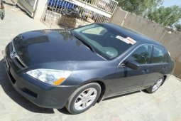 Honda Accord 2007 2.0 Comfort Automatic Gray for sale