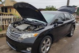 Black 2011 Toyota Venza at mileage 78 for sale in Lagos