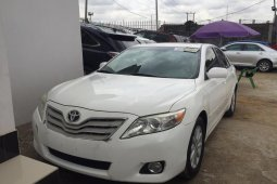 Best priced white 2010 Toyota Camry sedan at mileage 0