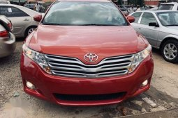 Well maintained red 2010 Toyota Venza automatic for sale at price ₦5,200,000