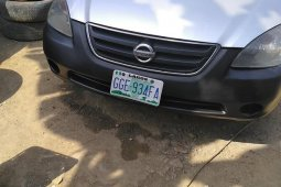 Sell grey/silver 2003 Nissan Altima automatic at mileage 1,000 in Ibadan