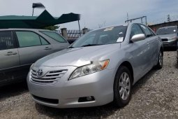 2007 Toyota Camry Silver for sale
