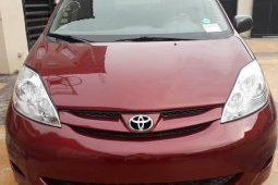 Used red 2010 Toyota Sienna automatic for sale