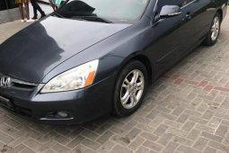 Honda Accord 2007 Sedan EX-L V-6 Automatic Gray for sale
