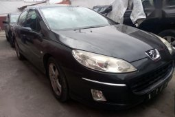 Need to sell black 2005 Peugeot 407 at mileage 50 in Ikeja