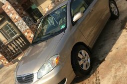 Toyota Corolla LE 2006 Gold for sale