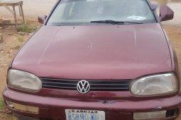 Volkswagen Golf 1992 Red for sale