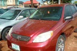Sell used 2002 Toyota Matrix automatic in Ikorodu