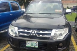 Very sharp neat used 2012 Mitsubishi Pajero automatic for sale in Lagos