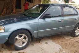 Sell cheap blue 2000 Honda Civic automatic at mileage 240,000