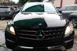 Authenticused 2015 Mercedes-Benz ML350 for sale at price ₦13,500,000