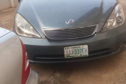 Sell grey/silver 2005 Lexus ES sedan automatic at price ₦1,390,000