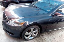 Selling black 2008 Lexus GS automatic at price ₦4,500,000 in Lagos
