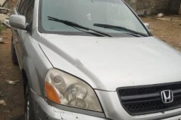 Used 2004 Honda Pilot car automatic at attractive price in Lagos