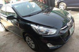 Need to sell black 2015 Hyundai Accent at price ₦2,650,000 in Lagos