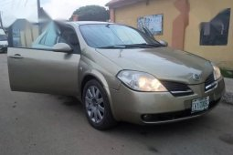 Gold 2005 Nissan Primera automatic at mileage 100 for sale in Lagos