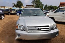 Need to sell high quality grey/silver 2007 Toyota Highlander automatic at mileage 75,000
