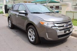 Ford Edge 2014 Gray for sale
