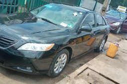 Black 2007 Toyota Camry car at attractive price in Lagos