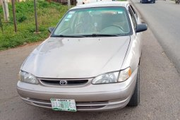 Sell used 2000 Toyota Corolla automatic in Ibadan
