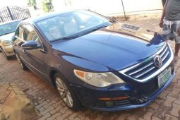 Used blue 2011 Volkswagen CC automatic for sale