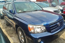 Need to sell cheap used 2006 Toyota Highlander in Lagos